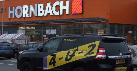 Nieuwbouw Hornbach Den Haag